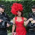 Royal Ascot security ladies day police
