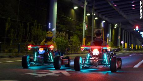 Maricar Tour Tokyo S Streets In A Go Kart
