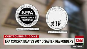EPA coins to congratulate 2017 disaster responders