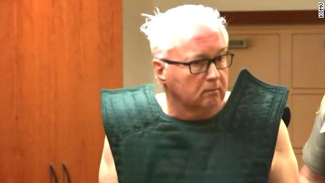 Gary Hartman, 66, appears in court after being charged in a 32-year-old slaying.