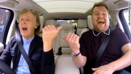 paul mccartney carpool karaoke sot nr_00002501