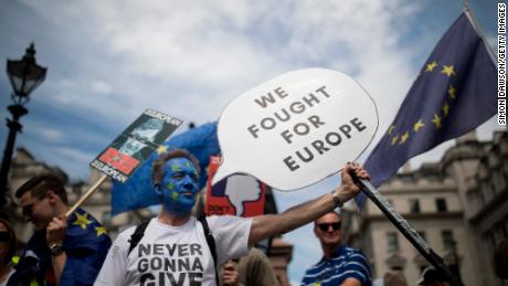 The People's Vote march called for citizens to have a final say on Brexit.
