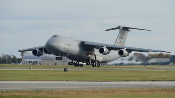 Air Force C-5s are being upgraded to increase their power and range. The Air Force plans to keep these giant transport jets in their fleet into the 2040s.