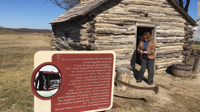 "The cabin at the ""Little House on the Prairie"" site is a re-creation built in 1977"
