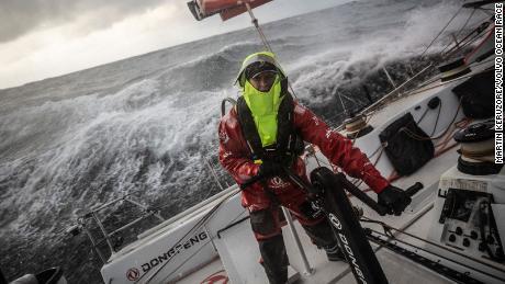 Volvo Ocean Race Dongfeng Carolijn Brouwer Marie Riou Make