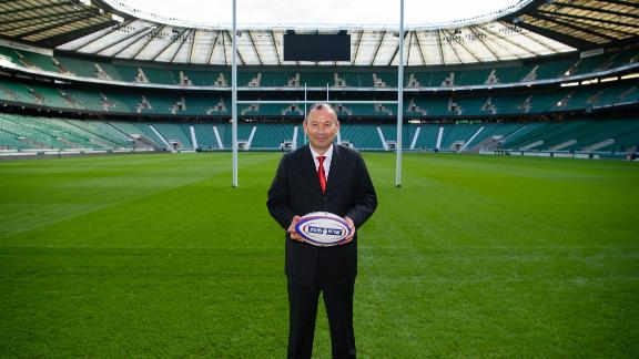 Jones was appointed as England head coach in the wake of their disastrous 2015 Rugby World Cup campaign.