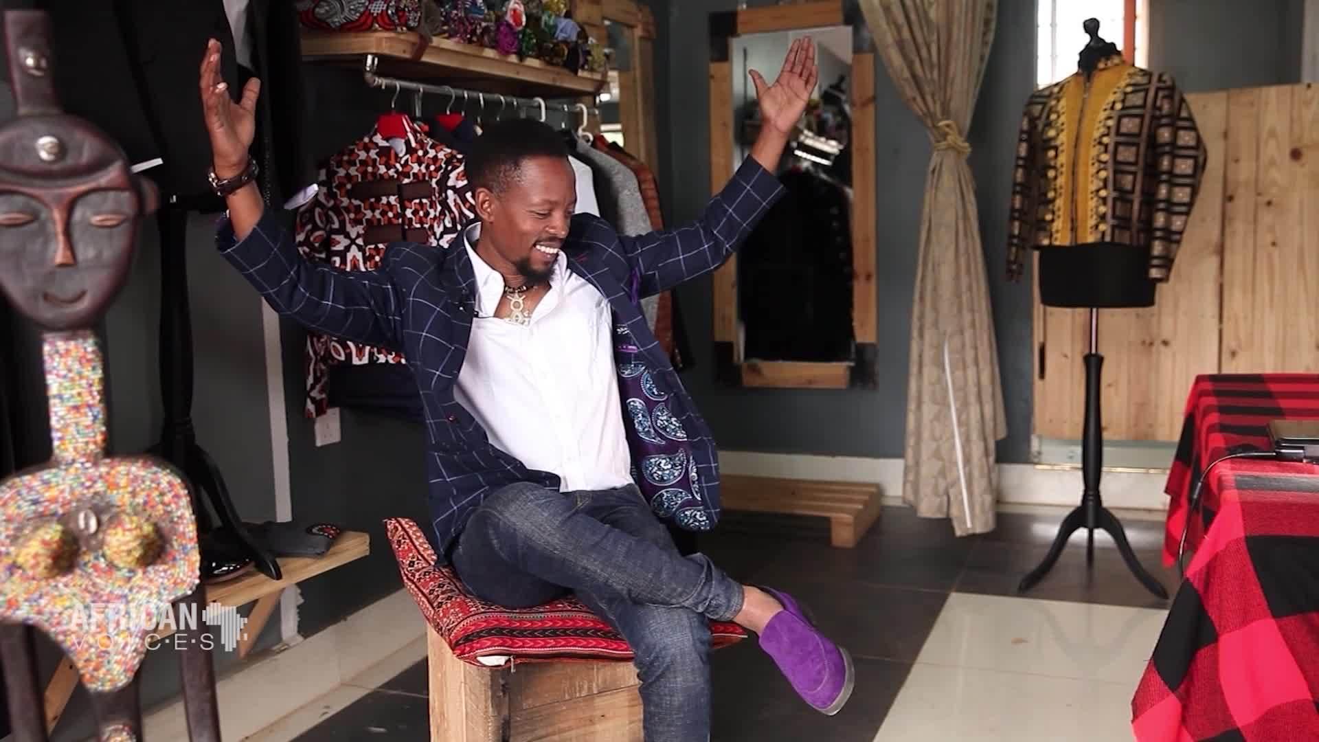 Vibrant And Dapper Fashion Designer John Kaveke From Nairobi Kenya Is The Real Deal Cnn Video