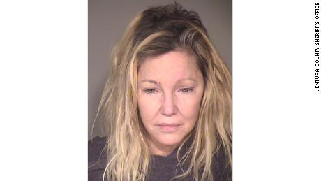 Heather Locklear booking photo from June 25, 2018