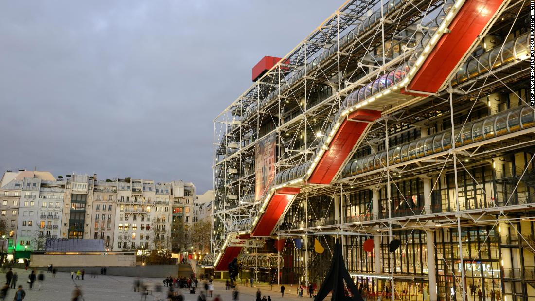 Centre Pompidou to shut for three years for renovations