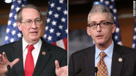Reps. Bob Goodlatte (left) and Trey Gowdy (at right) are two Republican committee chairman facing criticism from conservatives in their own party.