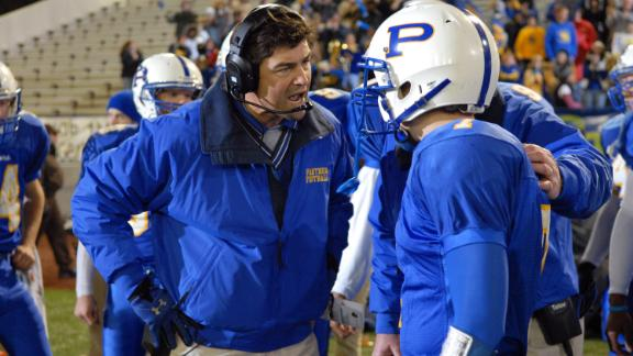 """Football coach Eric Taylor (Kyle Chandler) was a father figure not only to his daughter, but his players, in the NBC series """"Friday Night Lights,"""" helping them navigate life in -- and out of -- their football-mad Texas town."""