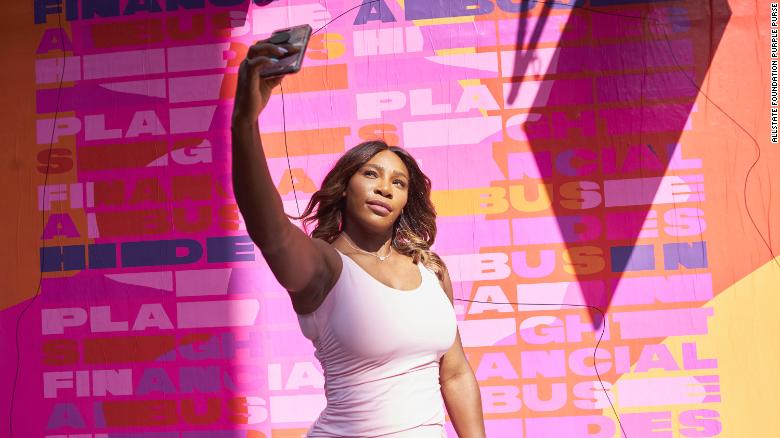 Serena Williams: How her daughter inspires her to speak out about financial abuse