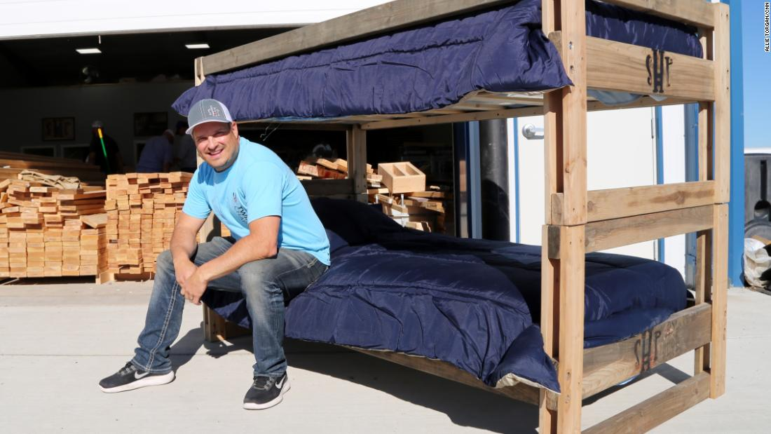 He Quit His High Paying Job To Build Beds For Kids Who Sleep On The