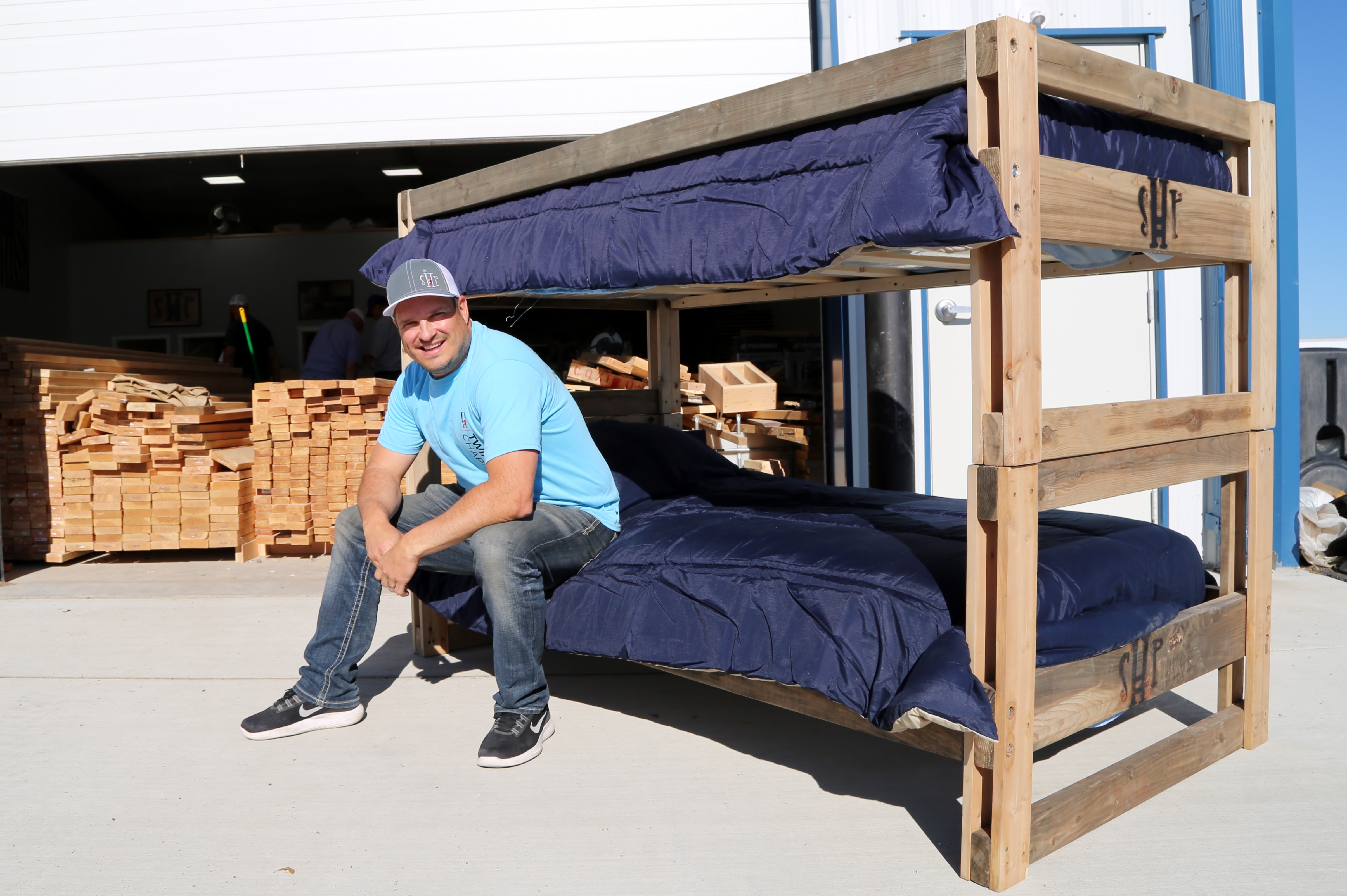 Black girl white guy sex on bunk bed He Quit His High Paying Job To Build Beds For Kids Who Sleep On The Floor Cnn