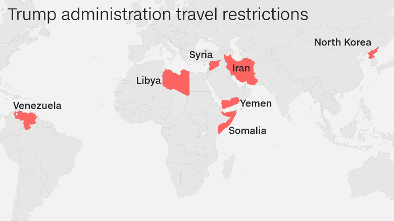 If you\'re trying to come to the US, this is how the travel ban could ...
