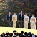 Japan imperial family garden party