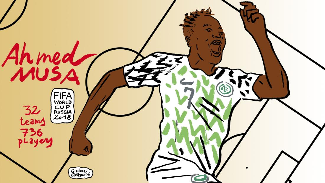 Two delightful goals from the impressive Ahmed Musa secured Nigeria a first victory of the tournament and diminished Iceland's chances of making it into the last 16.