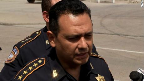 Harris County Sheriff Ed Gonzalez talks about the paper flyers left on vehicles.
