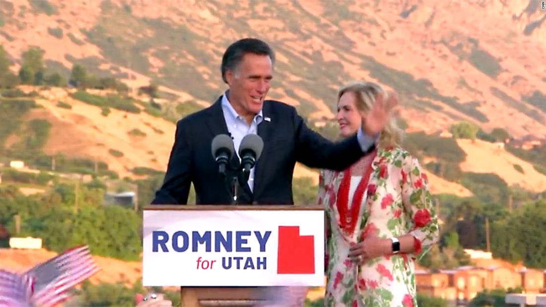 Romney takes issue with Trump calling the media the 'enemy'