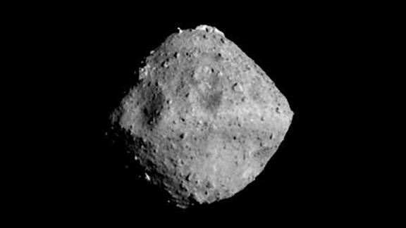 Ryugu photographed with the ONC-T (Optical Navigation Camera - Telescopic) in June.
