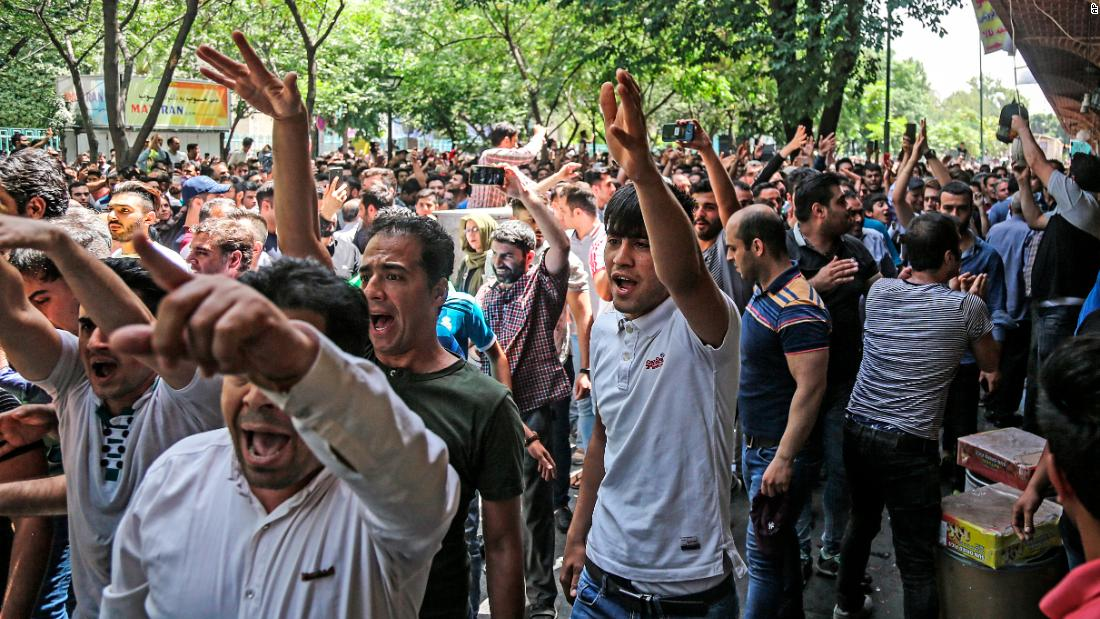 Iran's power struggle plays out in Tehran's Grand Bazaar thumbnail