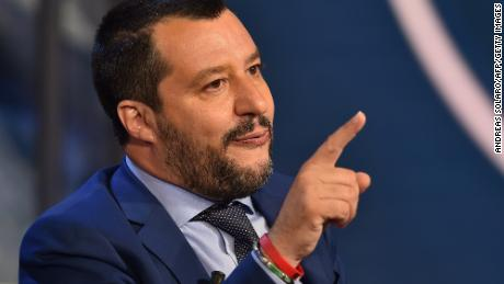 Italy's Matteo Salvini says being called a populist is 'a compliment'