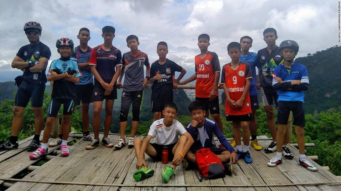 Soccer team found alive after 9 days trapped in cave