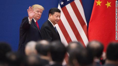Trump says China is interfering in midterm elections