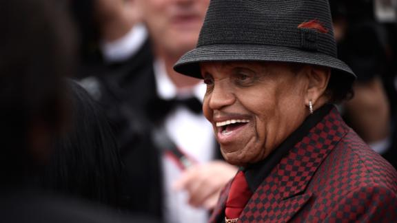 """CANNES, FRANCE - MAY 19: Joe Jackson attends the Premiere of """"Sicario"""" during the 68th annual Cannes Film Festival on May 19, 2015 in Cannes, France.  (Photo by Ian Gavan/Getty Images)"""