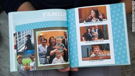 "The family yearbook captures the Foltzes' trip to Washington when Danielle testified on Capitol Hill about Acthar's price increase. ""Those days following Trevor's diagnosis, for our family, were the most emotionally dark that we've lived through,"" she said."