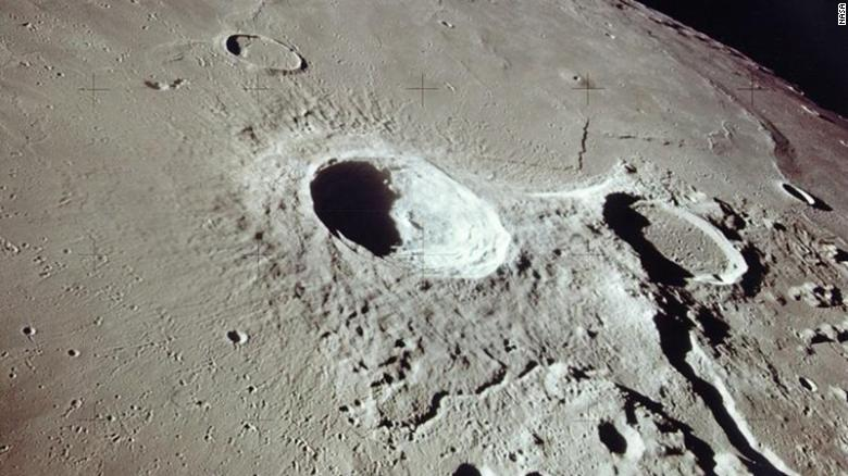 How humans caused the moon to warm