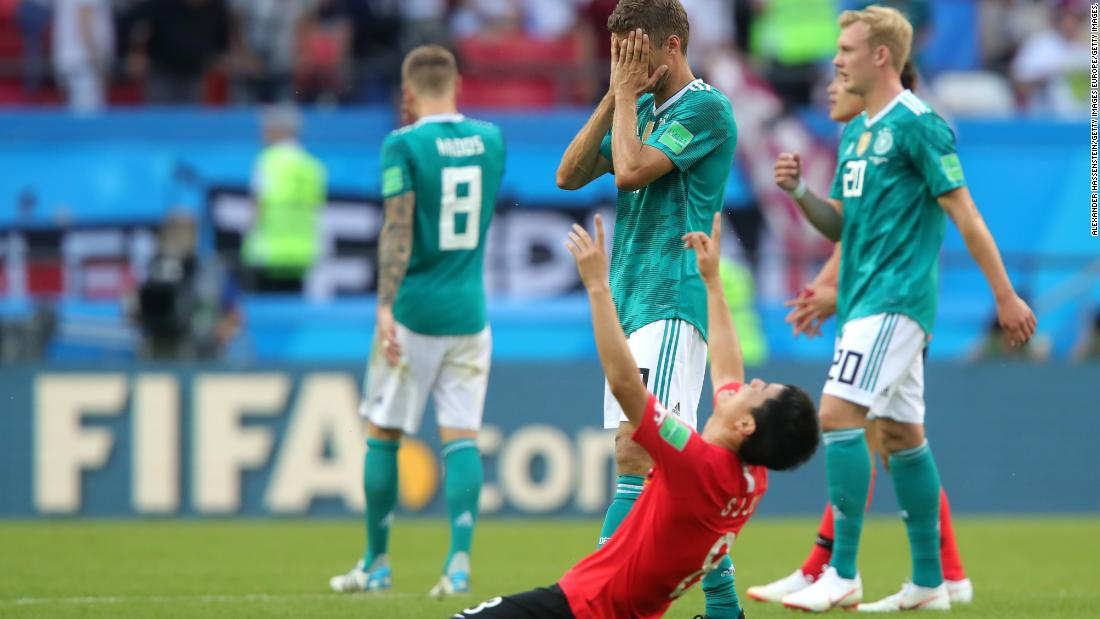 9d0abdb94 Germany crashes out of World Cup after embarrassing defeat by South Korea -  CNN