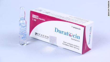 A package of carbetocin