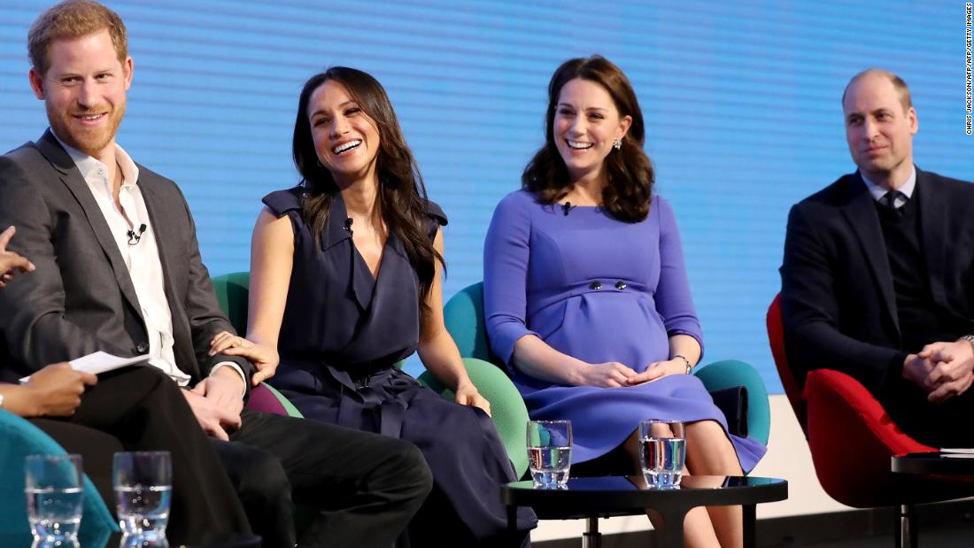 Harry, Meghan, William und Kate sprechen sich in einem neuen psychische Gesundheit PSA