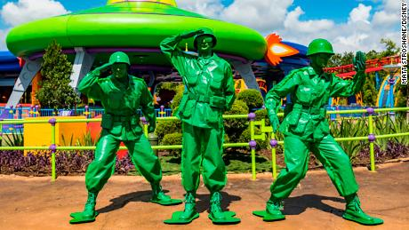 Disney S Green Army Patrol Welcomes Female Troops In New Toy Story