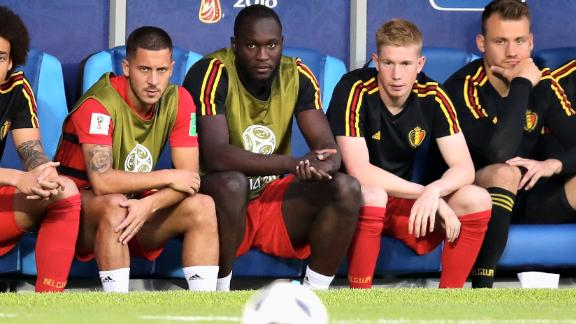The Belgium-England match was notable for how many top players didn