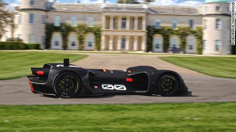 A Robocar will compete in the Goodwood Festival of Speed's famous hill climb event.