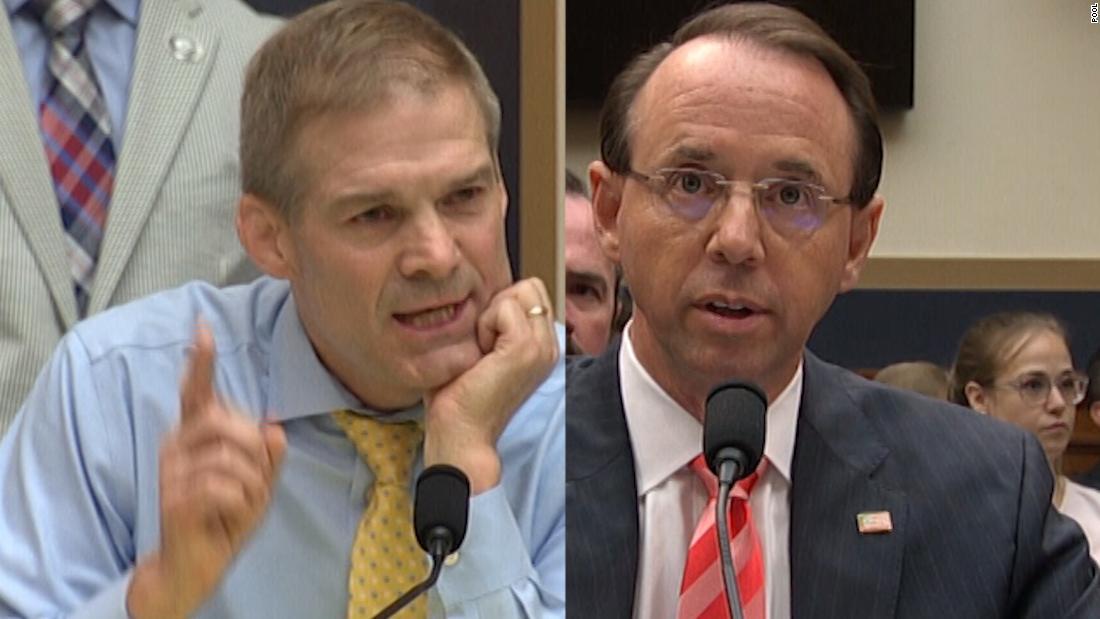 Rosenstein clashes with GOP lawmaker - CNN Video