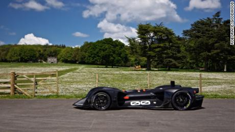 The self-driving electric car will be performing Goodwood's famous hill climb for the first time.