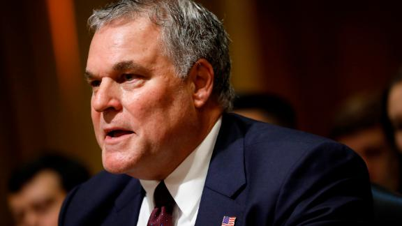 Charles Rettig, U.S. President Donald Trump's nominee to be Commissioner of the Internal Revenue Service, testifies during his confirmation hearing before the Senate Finance Committee on Capitol Hill June 28, 2018 in Washington, DC.