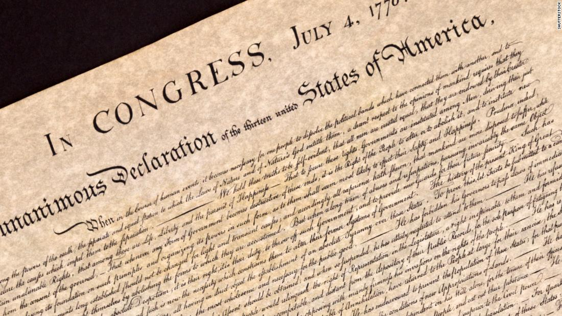 Image result for declaration of independence