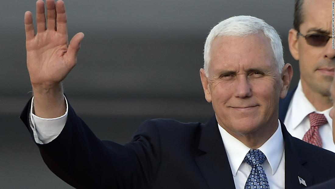 Pence speaks out on reporter White House ban