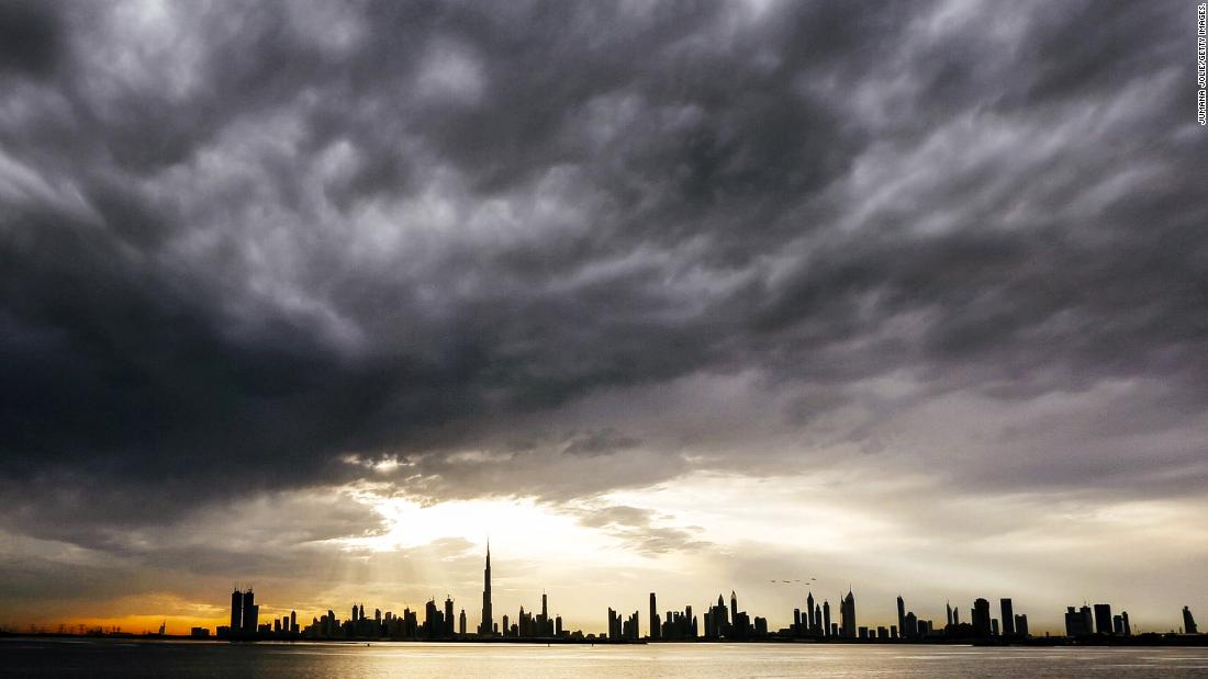 The UAE conducted 242 cloud seeding missions in 2017, the National Center of Meteorology and Seismology told CNN.