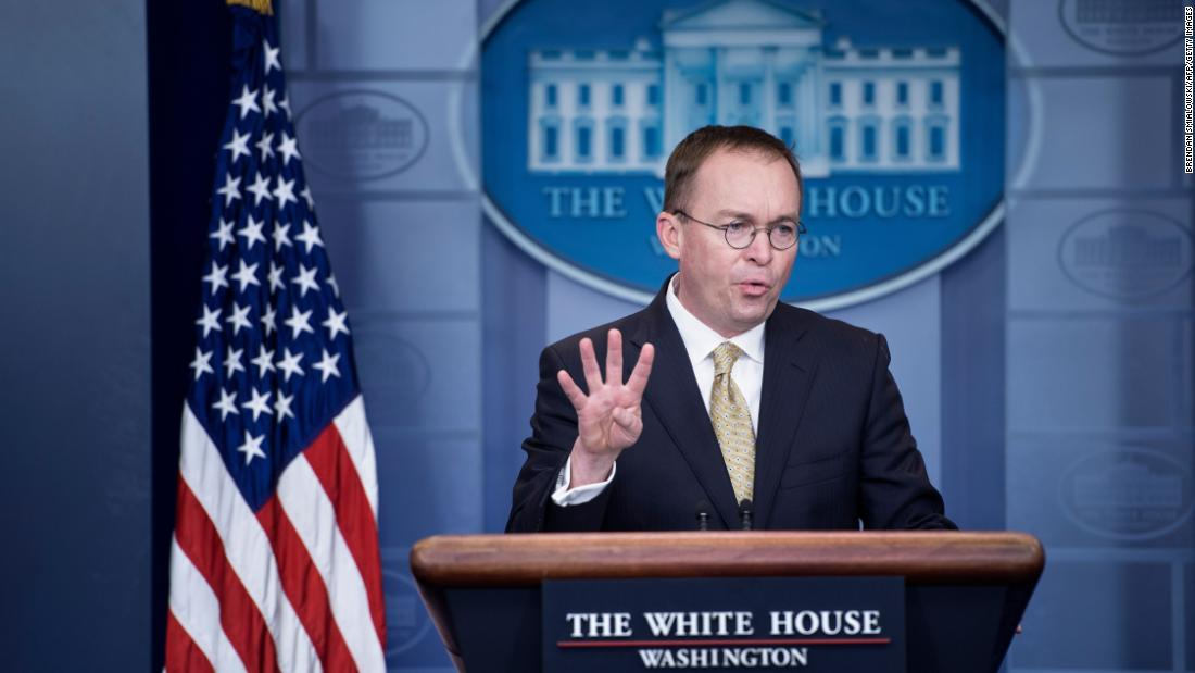 White House proposal and the Mulvaney factor loom debt ceiling fight