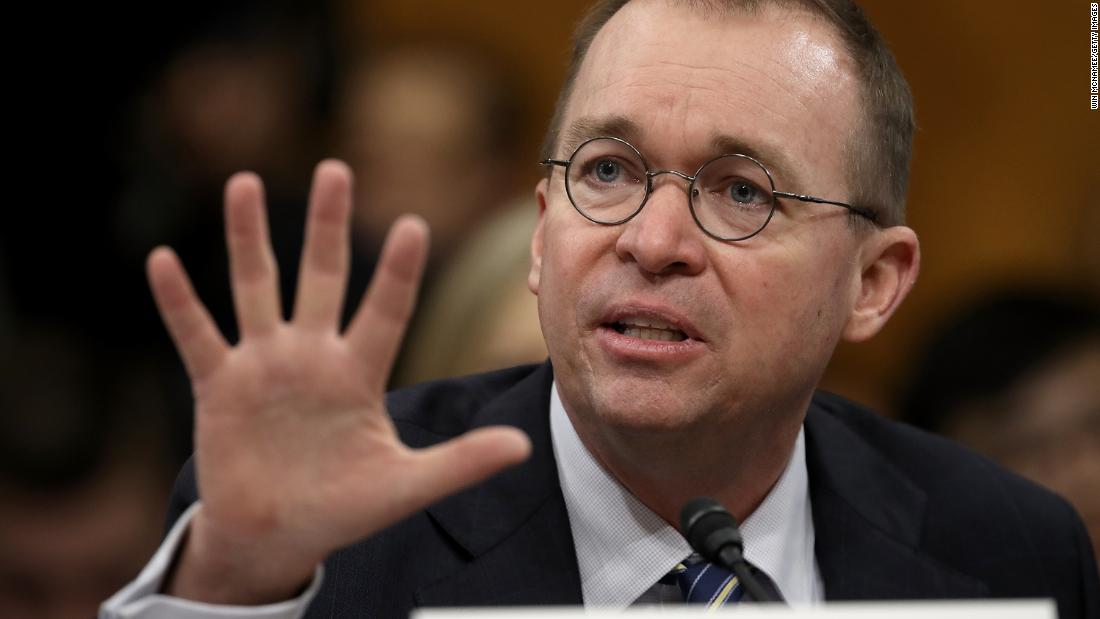 NYT: Mulvaney says Russia threat not great Trump subject