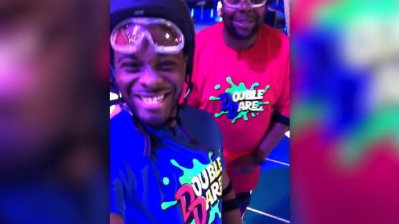 "title: Kel Mitchell 💯 on Instagram: ""Uh oh! The boys are in the building! Fun time shooting Double Dare today with the bro! make sure you watch the premiere tonight on..."" duration: 00:00:00 site: Instagram author: null published: Wed Dec 31 1969 19:00:00 GMT-0500 (Eastern Standard Time) intervention: no description: null"