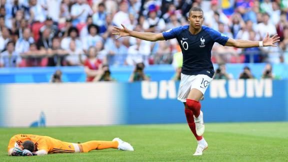 Kylian Mbappe was the star in France