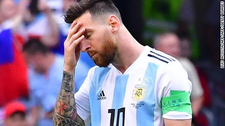 Lionel Messi could be appearing at this final World Cup.