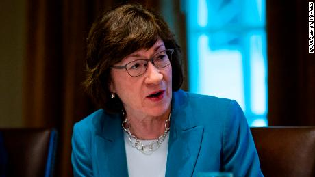 Collins asks the Justice Department not to support the strike of the Affordable Care Act