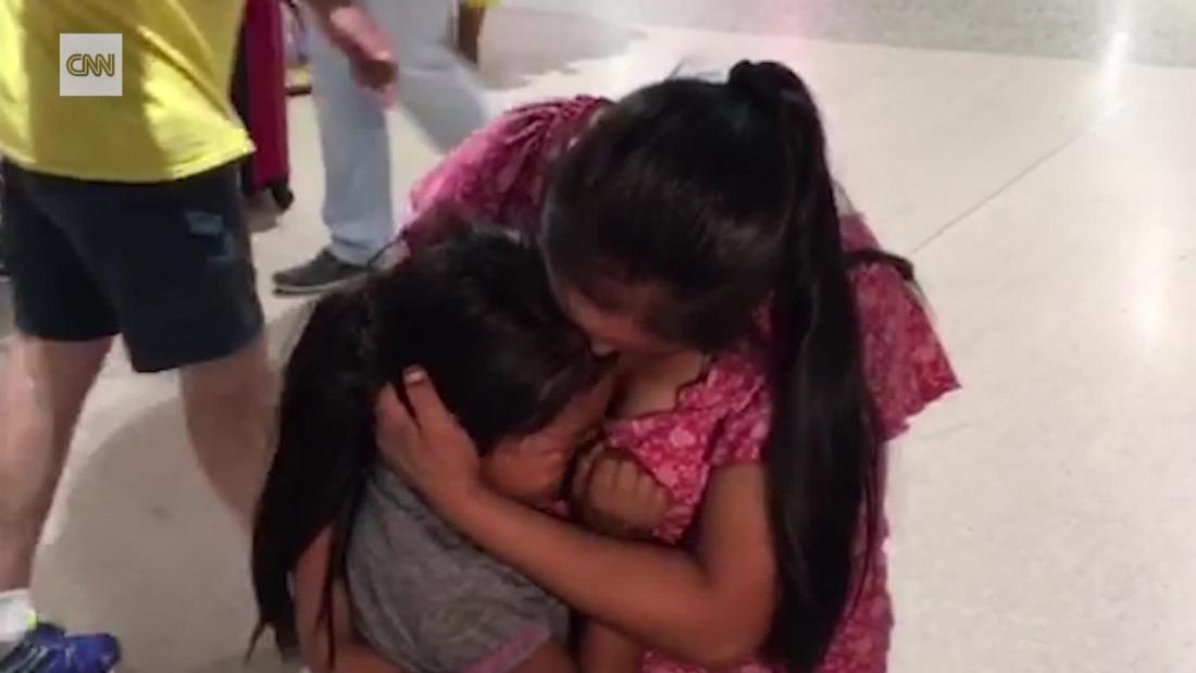 image of Mother and daughter reunited after 61 days